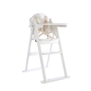 White Folding Highchair – East Coast