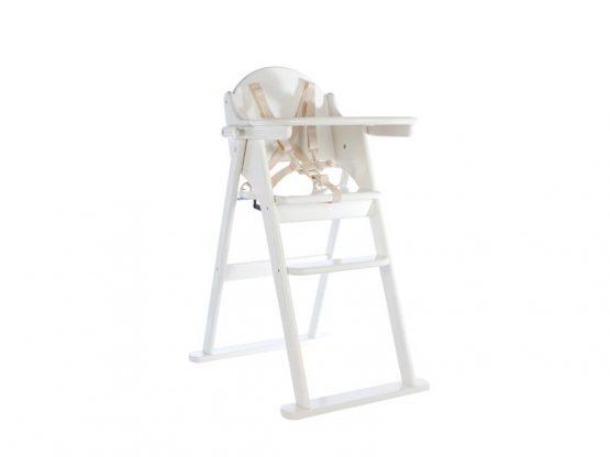 White Folding Highchair – East Coast