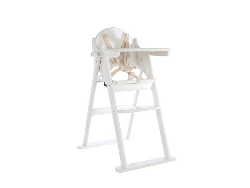 White Folding Highchair U2013 East Coast