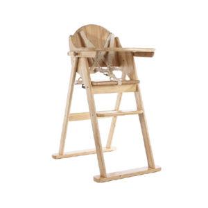Natural Folding Highchair