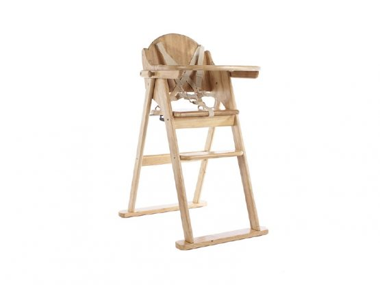 Natural Folding Highchair