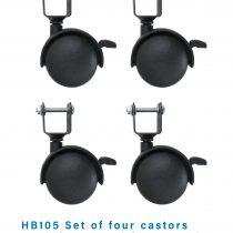 Castors for Holibobs Cot
